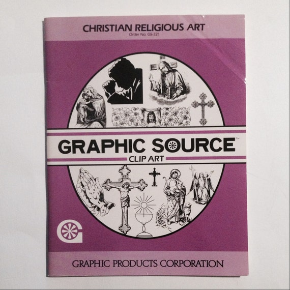 Christian Clip Art And Symbols For Reproduction Crafts Etsy