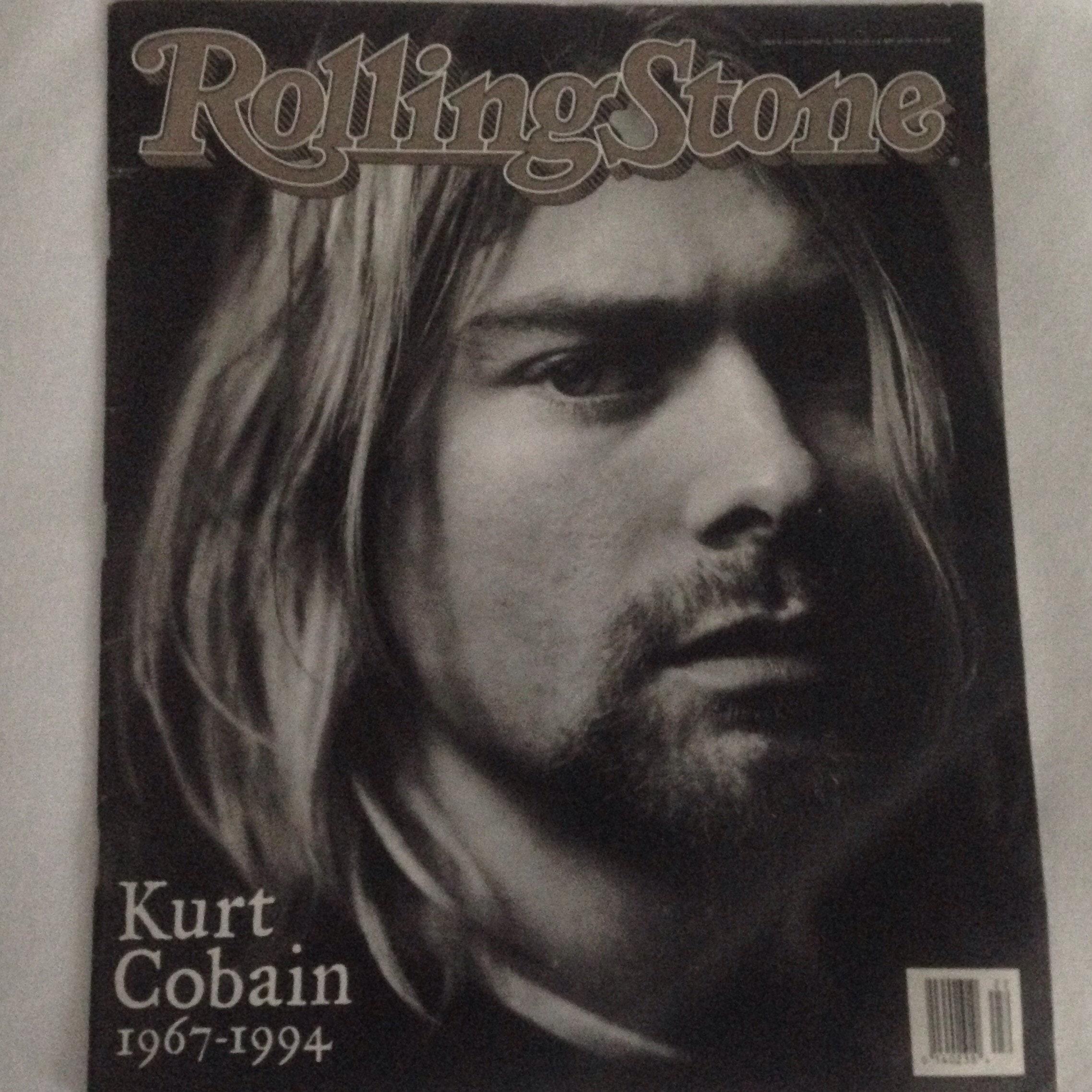 Kurt Cobain Rolling Stone Magazine June 1994 38 Pages   Etsy