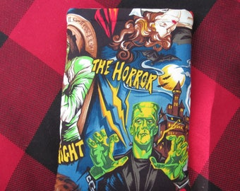 MINI BOOK SLEEVE- Classic Horror - Book Pouch, Book Protector