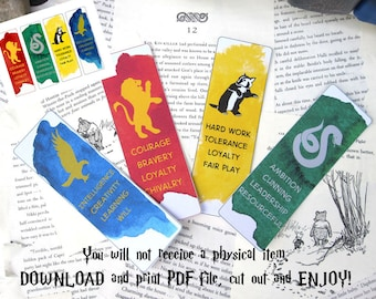 photograph about Romans Road Bookmark Printable known as Printable bookmarks Etsy