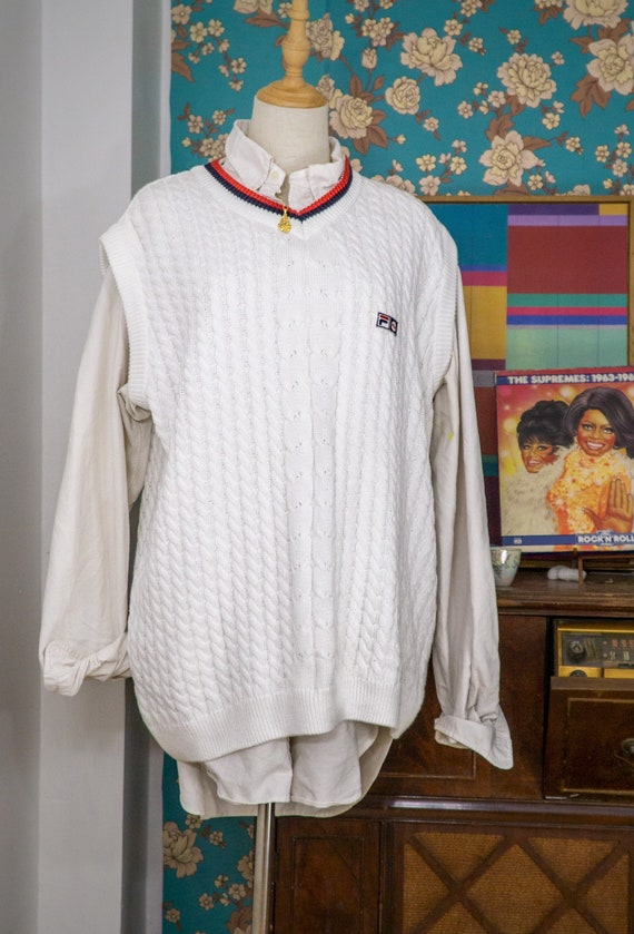 Vintage Fila Sweater Vest