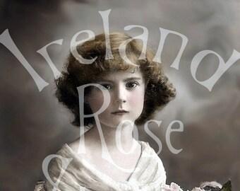 Lucette-Victorian Girl-Digital Image Download
