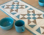 Quilted Table Runner Pattern - 595 X Marks the Spot - Table Runner Pattern - PDF Download 595