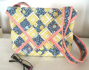 Quilted Purse Pattern - City Pretty Bag #557