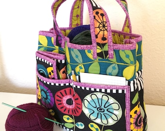 Quilted Crochet Caddy Set - pattern #521