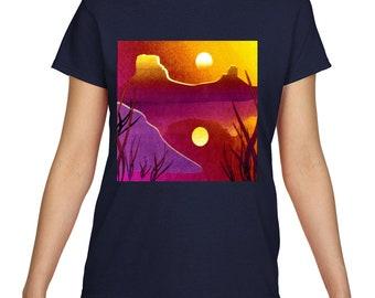 Desert Sunset Women's T Shirt