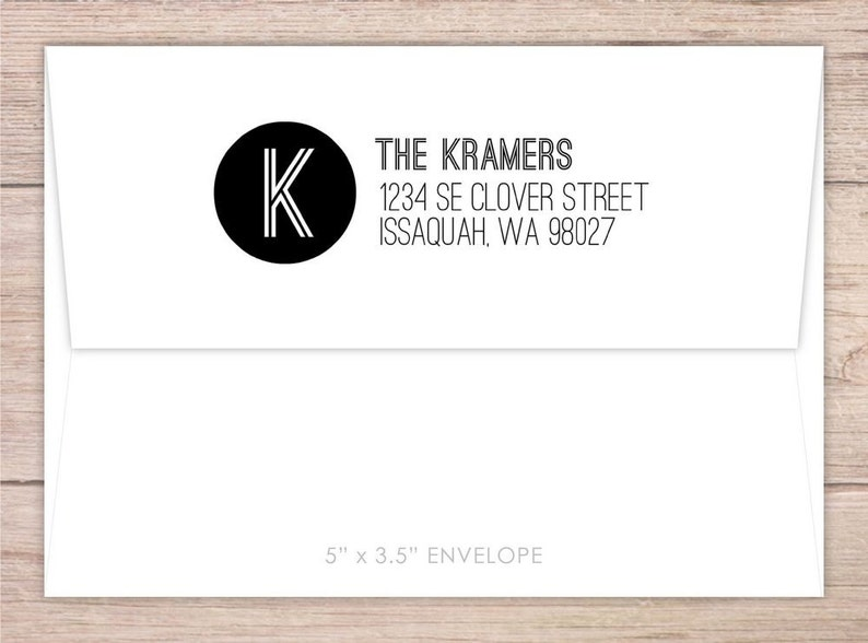 Self Inking address stamp time saving address stamp Customized address stamps Bold Initial Custom Address Stamp Custom Address Stamp