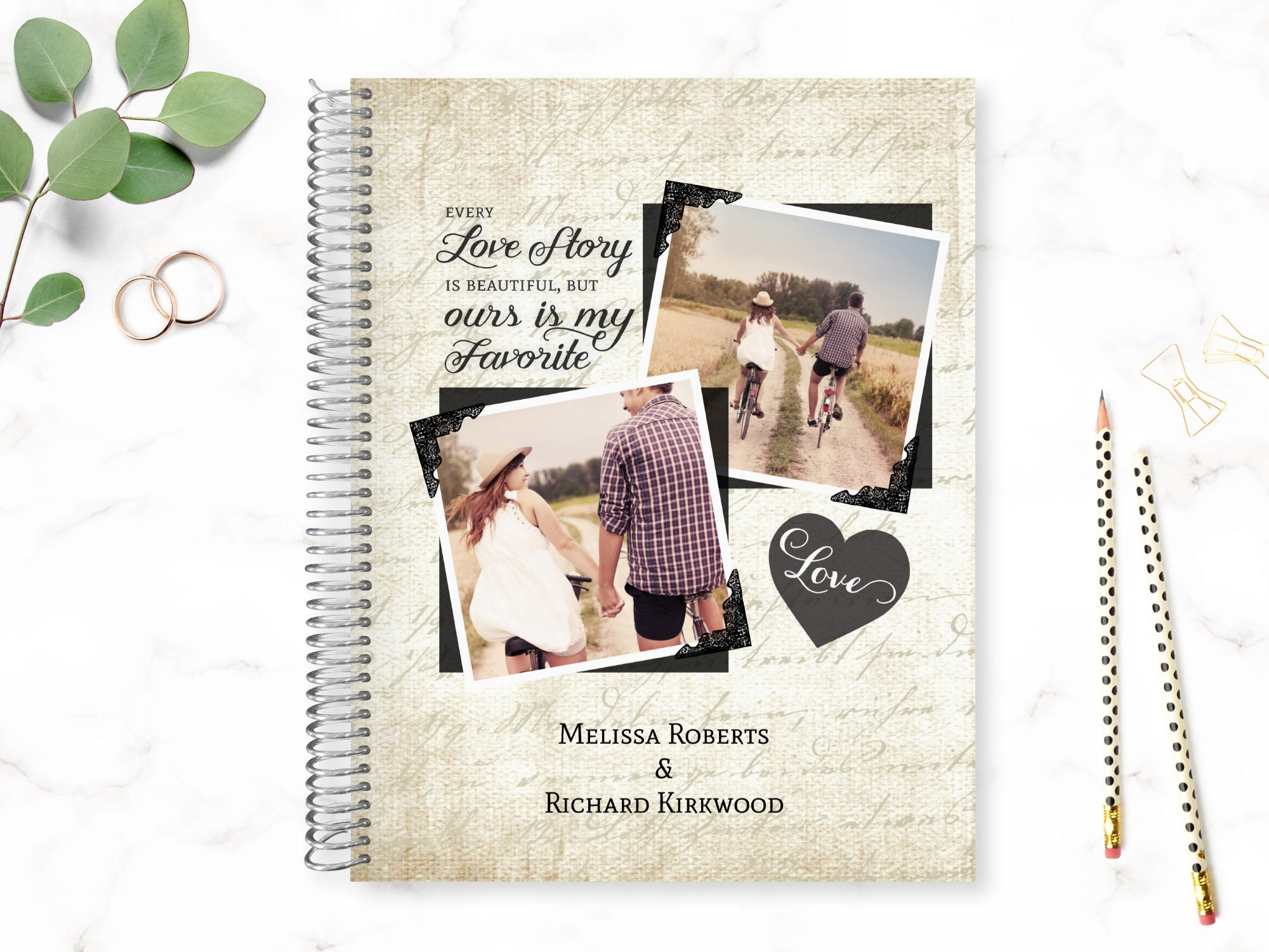 Custom Wedding Planner Wedding Planner Book Engagement Gifts   Etsy