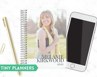 Custom Printed Tiny Planner   Small 2020 Planner   Weekly Planner   Pocket Planner   Extra Small Planner   Life Planner   Modern Type Photo