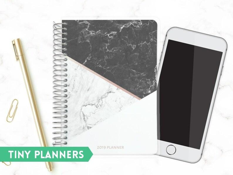 Custom Tiny Planner  Small 2020 Planner  Pocket Planner  image 0