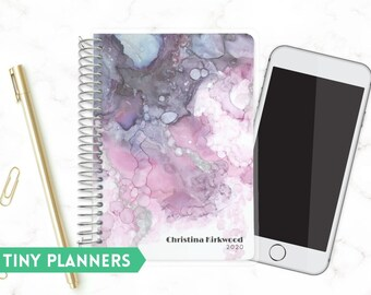 Custom Tiny Planner   Small 2020 Planner   Weekly Planner   Pocket Planner   Extra Small Planner   Mini Planner    Inkmarks