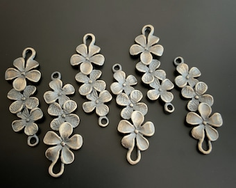 Sterling Silver Flower Finding Sterling Silver Jewelry Findings Savannah Jewelry Supply