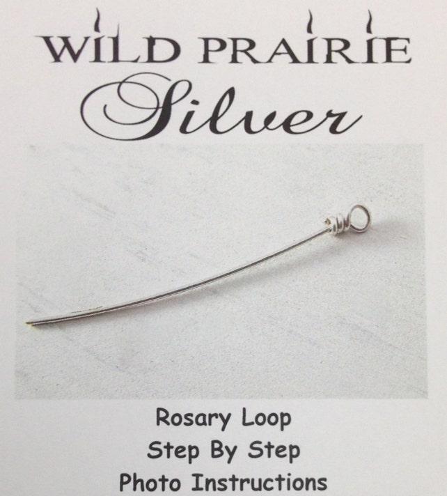Diy Jewelry Kit Closed Loop Jewelry Kit Instructions Rosary Etsy