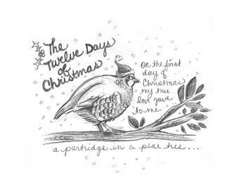 PDF -- The 12 Days of Christmas!