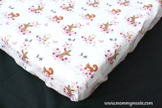 Nursery Bedding for the Modern Adventurer Warrior Princess by Mommy Moxie on Etsy Metallic Gold Arrows on Blush Pink Changing Pad Cover