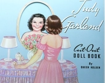 Judy Garland Cut-Out Doll Book by Queen Holden, Judy Garland Paper Dolls, The Queen Holden Collection by Merrimack Publishing