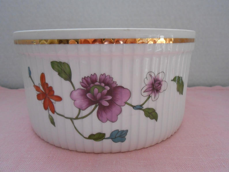 Royal Worcester Astley Astley Casserole Dish Royal Worcester Astley Porcelain Souffle Dish English Porcelain Bakeware