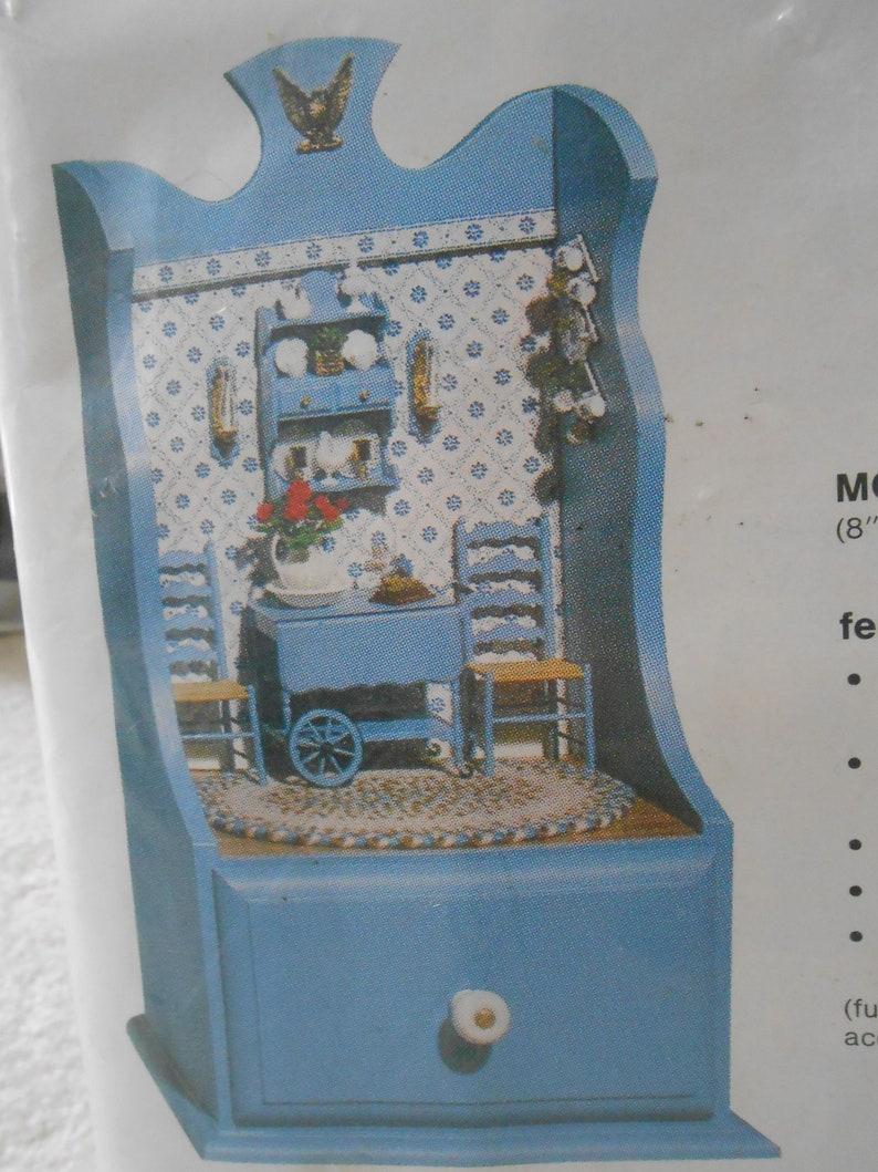 Miniatures Wooden Display Cabinet Kit What-Not Enterprises,
