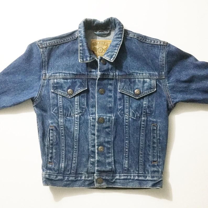 d05ecdca91dc8 Kids denim jacket kids jean jacket Incrowd Denim kids
