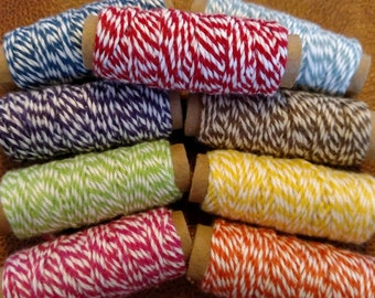 Bakers Twine 10 yd choice of colors