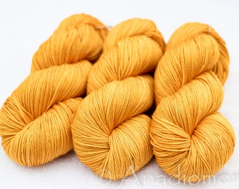 Cashmere Sock - Honey - Colour Adventures (fibers: merino, cashmere, nylon)