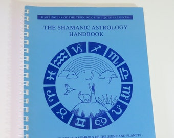 Shamanic Astrology Handbook , Daniel Giamario Signed and Carolyn Brent, Metaphysical Book, Harbinger of the Turning of the Ages