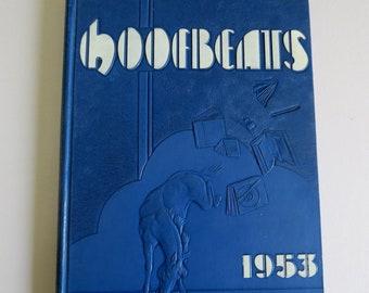 1953 HOOFBEATS Year Book, North Phoenix High School, Phoenix, Arizona