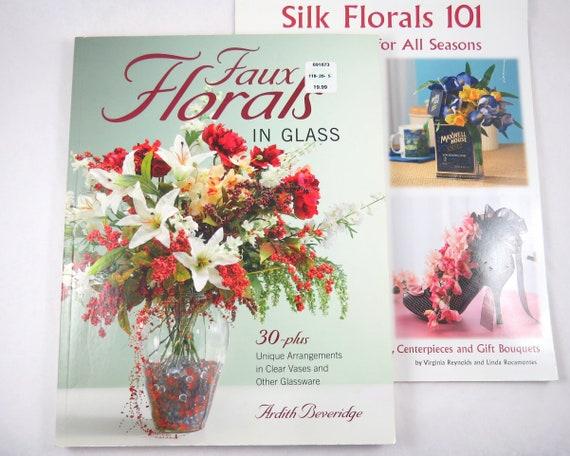 2 Silk Floral Arranging Books Centerpieces Wreaths Faux Etsy