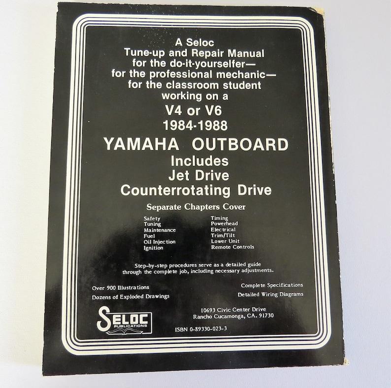 Seloc Yamaha Outboard Tune Up and Repair Manual, 3 Volumes I II III, Joan  Clarence Coles 1984-1988, Boat Motor Repair Certified Textbooks