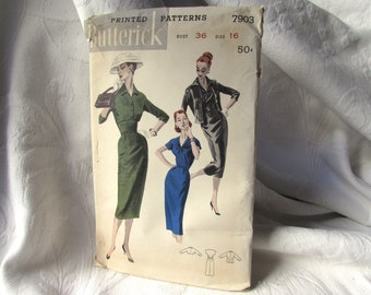 1959 Mccall S Skirt Suit Jacket And Blouse Pattern Number Etsy