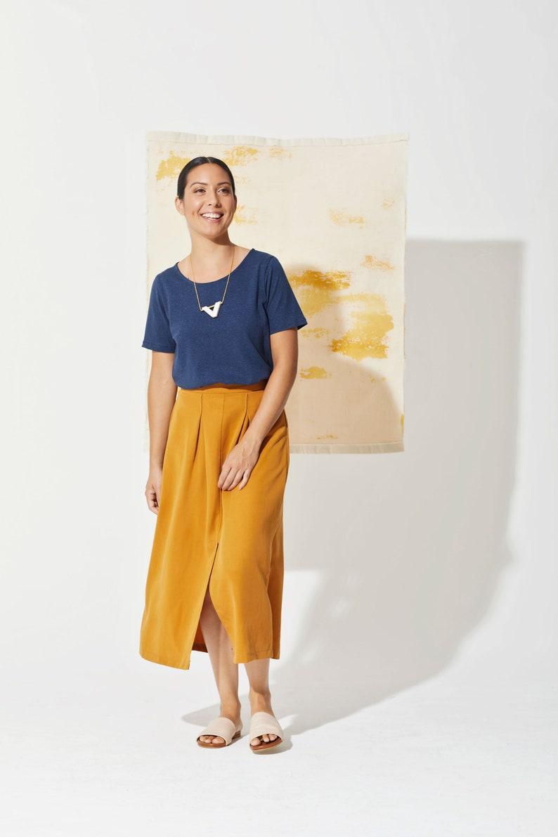 The Ochre Escale Skirt  30/% off