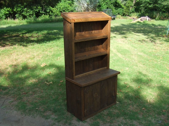 Trade Show Rustic Custom Hutch Farmhouse Furniture Etsy
