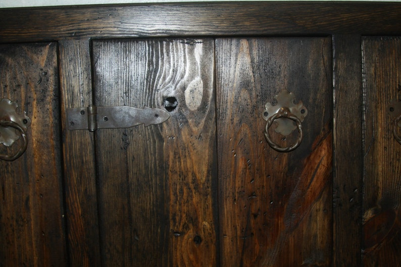 Medieval rustic custom cabinets face frames and doors only ...