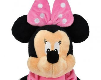 b2f9ca040e8 Personalized Soft Pink Minnie Mouse Plush Baby Dolly 12 inches