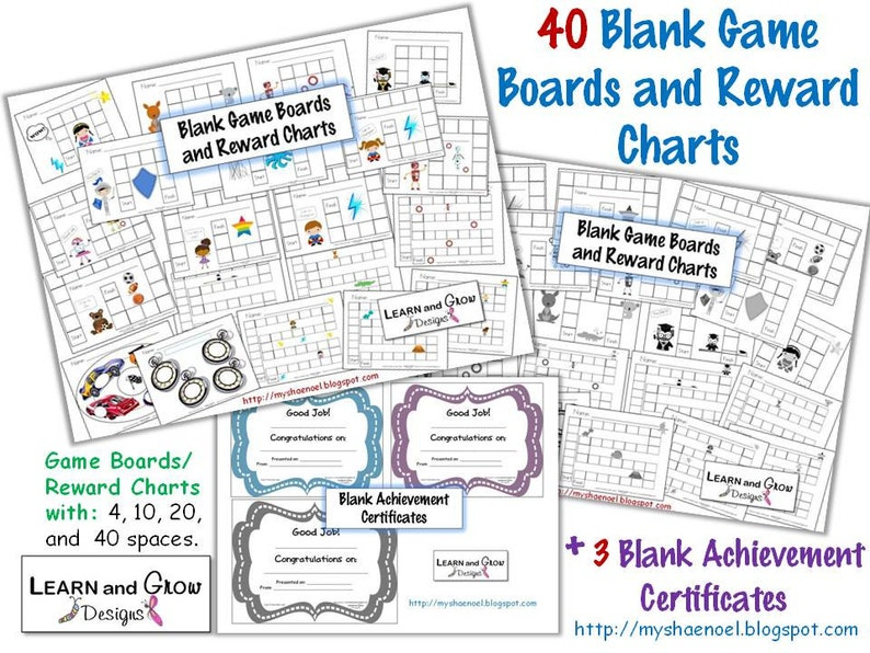 image relating to Printable Game Boards identified as Printable Blank Video game Community forums, Profit Charts, and Certificates