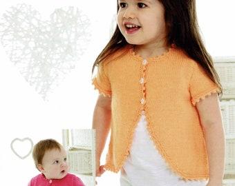 BABY GIRL TODDLER GIRLS KIDS SPANISH BOW CARDIGAN BOLERO SHRUG PARTY CHRISTENING