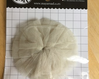 Tulle Mum Frosting from Maya Road