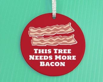 Bacon ornament | Etsy