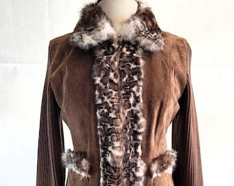Kenji Fur Trimmed Jacket