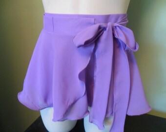 Wrap style Ballet Skirt - Girl's sizes 2-14