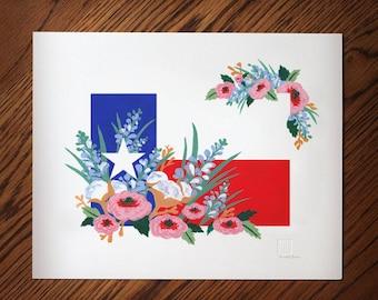 Texas Flag Art No.1