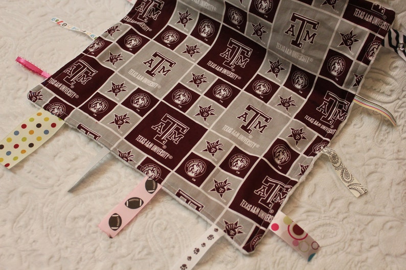 Texas Aggie Blanket with Ribbons image 0