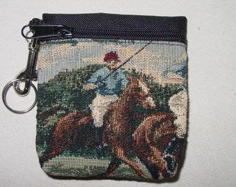 Bull Dog Tapestry  Belt PackKey Chain Combo