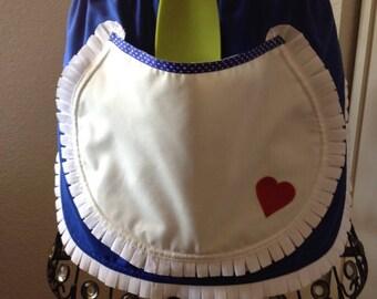 Alice In Wonderland Adult Waist Apron (SALE)
