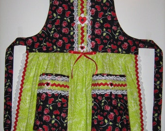 Child's Kissed By A Rose Full Apron (SALE)
