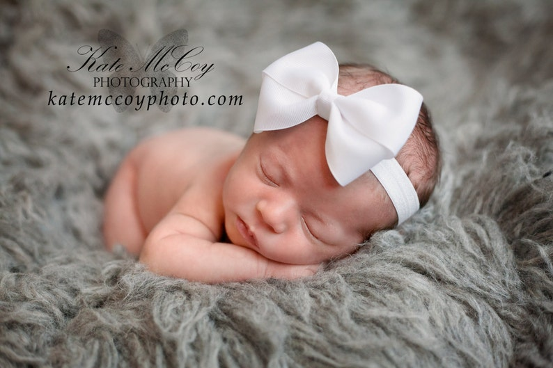 86f408288465 Baby headband infant headband 4 bow bow headband