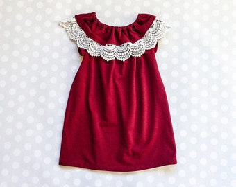 burgundy and lace girls christmas dress burgundy holiday dresses for girls and baby girls