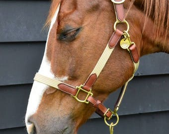 BRIDLE, HALTER or TACK Tag. Hand Stamped. Personalized Tags. Custom Horse Saddle I.D. Identification Tag for Pets with Phone Number and Name