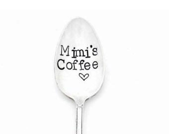 Caffeine Addict Coffee Lover WAKE CAFFEINATE CREATE\u2122  The Original Hand Stamped Vintage Coffee Spoons\u2122 by Sycamore Hill Coffee Addicts