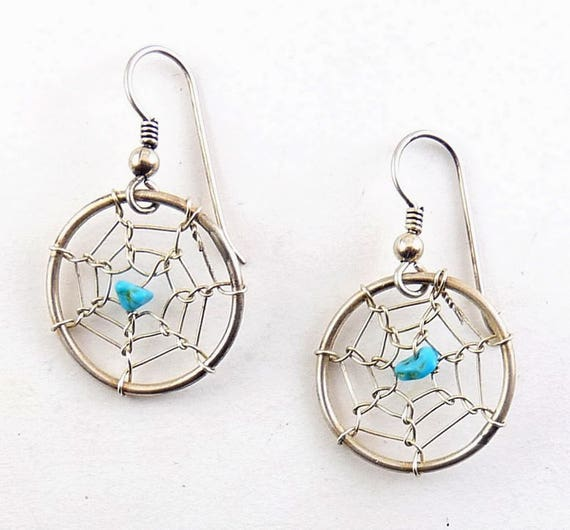 Native American Sterling Silver & Turquoise Dream